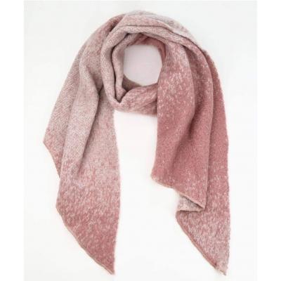 Sjaal gemeleerd roze.