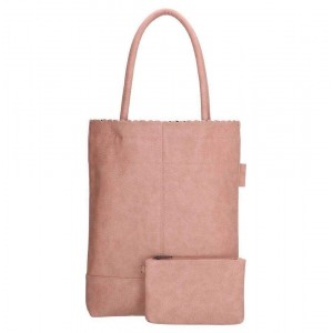 Beagles shopper roze.