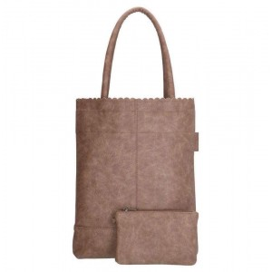 Beagles shopper taupe.