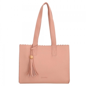 Charm shopper roze.