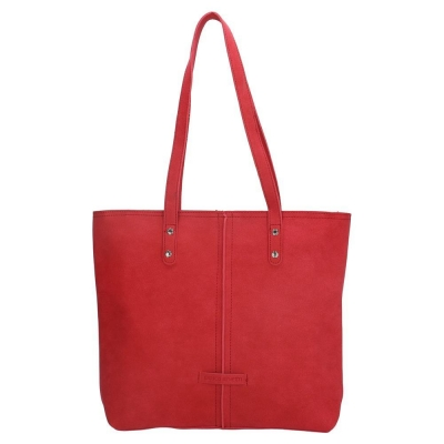 Enrico Benetti shopper rood.