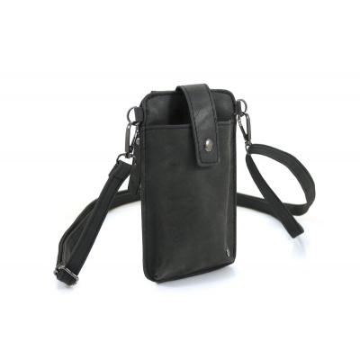 Telefoontasje Loenen zwart.