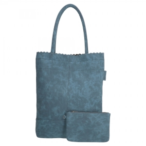 Beagles shopper blauw.