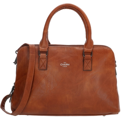 Charm London Chelsea Medium cognac.