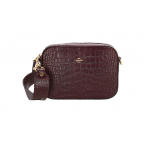 Charm London leren tas bordeaux.