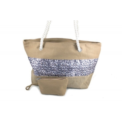Stoere camel beach shopper Long Beach