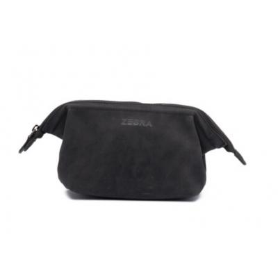 Zebra Natural Bag Emma etui - black.