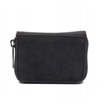 Zebra Natural Wallet - black.