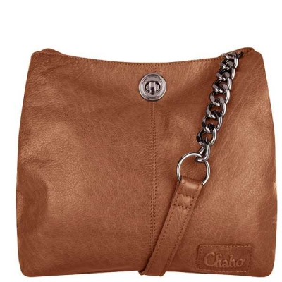 Chabo Bags Chain small camel.