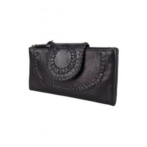 Ladies Wallet zwart.