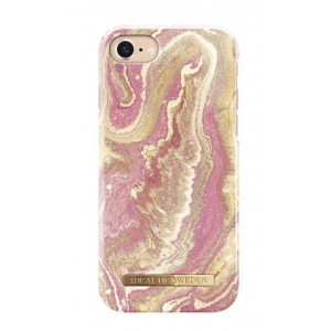 Hoesje Golden Blush Marble iPhone 6/7/8s.