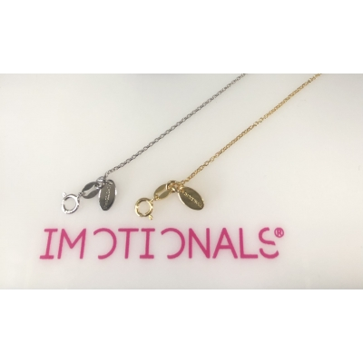 Ketting Imotionals goud 41 cm.