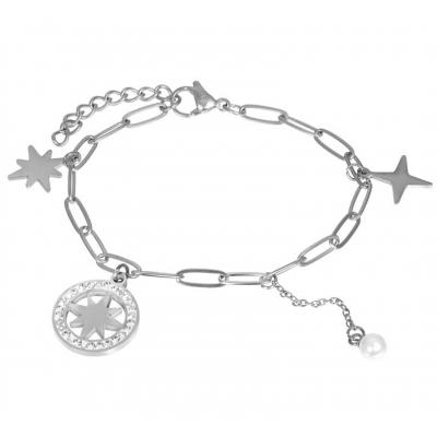Armband Sparkle zilver.