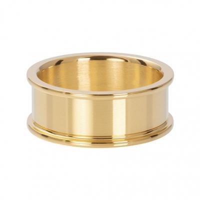 Basis ring goud 8 mm.