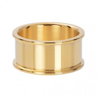 Basis ring goud 10 mm.