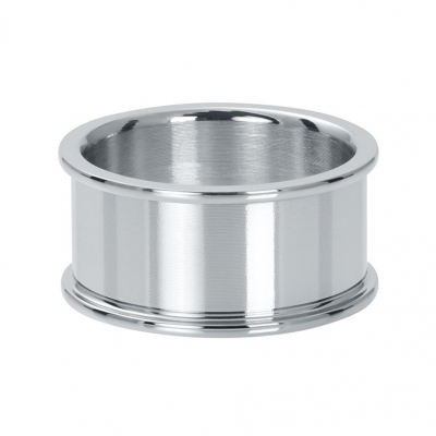 Basis ring zilver 10 mm.