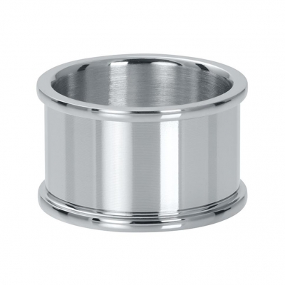 Basis ring zilver 12 mm.