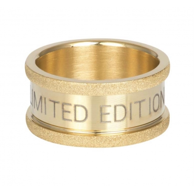 Basis ring Limited Edition goud 10 mm.