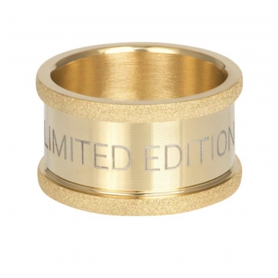 Basis ring Limited Edition goud 12 mm.