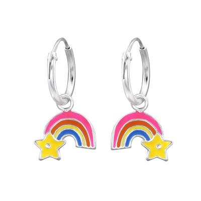 Hoops regenboog met ster.