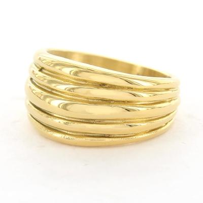 KalliKalli ring breed 3 goud.