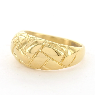 KalliKalli ring breed 2 goud.