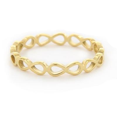 KalliKalli ring infinity goud.