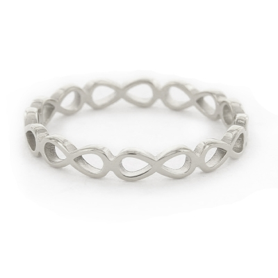 KalliKalli ring infinity zilver.