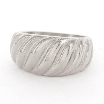 KalliKalli ring breed 1 zilver.