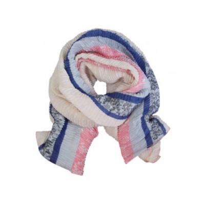 Sjaal Jetta blauw.