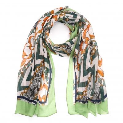 Sjaal Fantasie 1 groen.