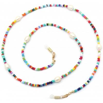Zonnebril koord beads multi.