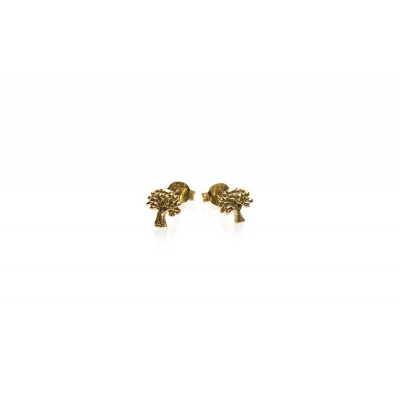 Karma studs tree of life goud.